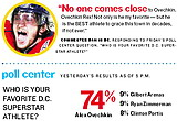 Poll Center: Who is your favorite DC superstar athlete? © Washington Post Express & AP